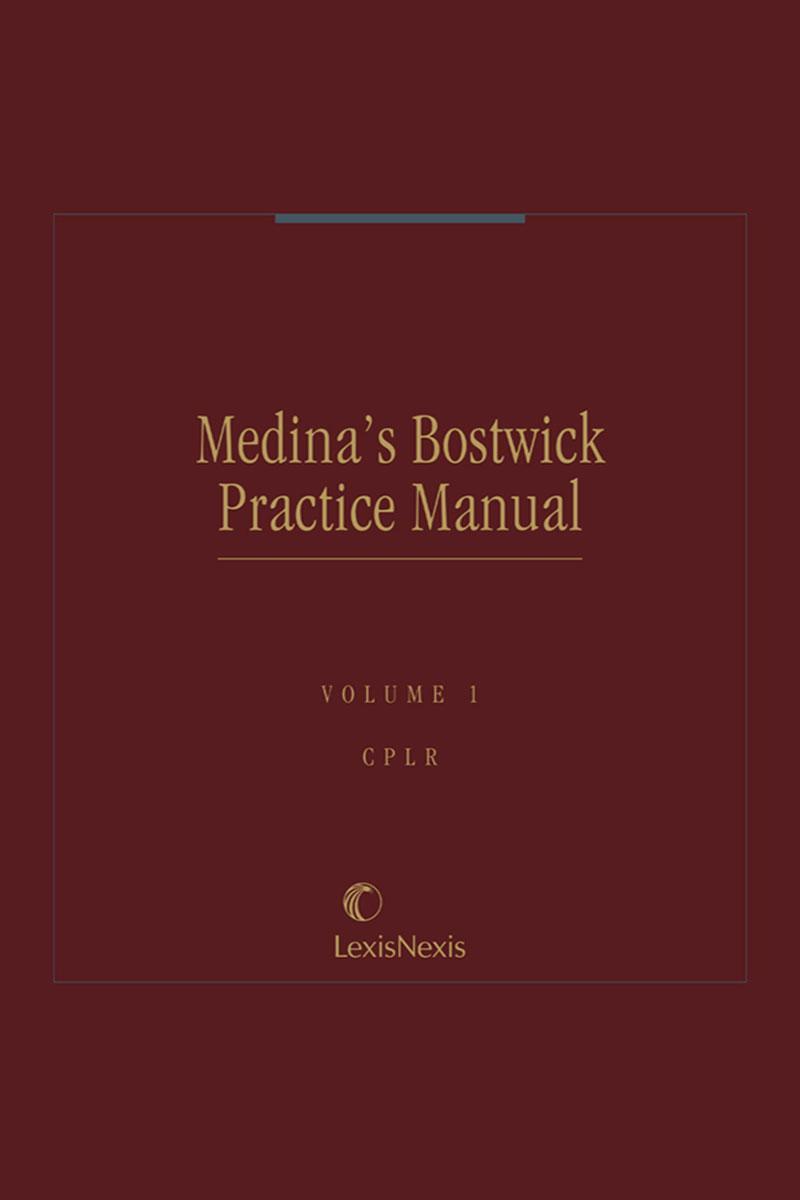 Medina's Bostwick Practice Manual