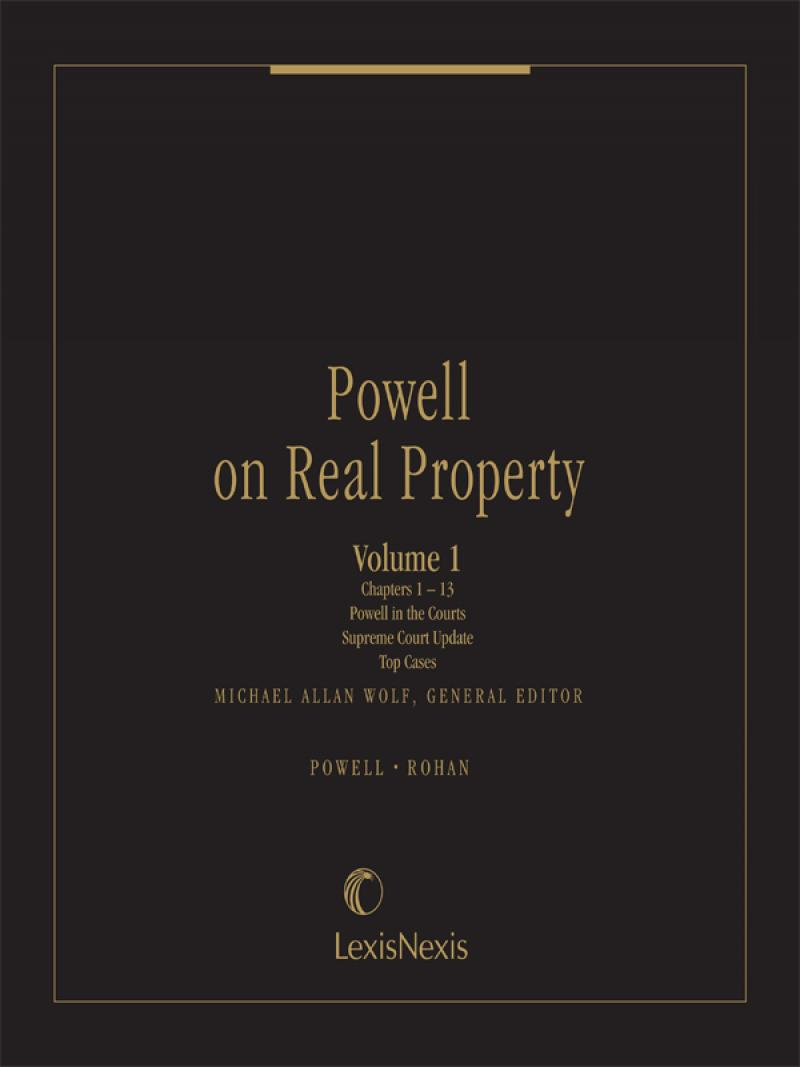 Powell on real property lexisnexis store powell on real property fandeluxe Choice Image