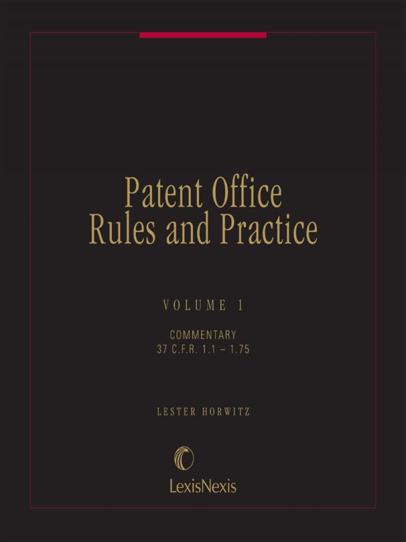 Patent Office Rules And Practice Lexisnexis Store