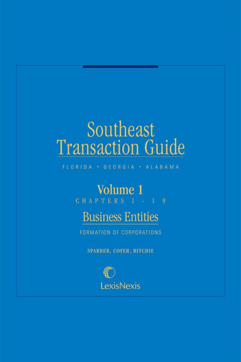 southeast transaction guide florida georgia and alabama