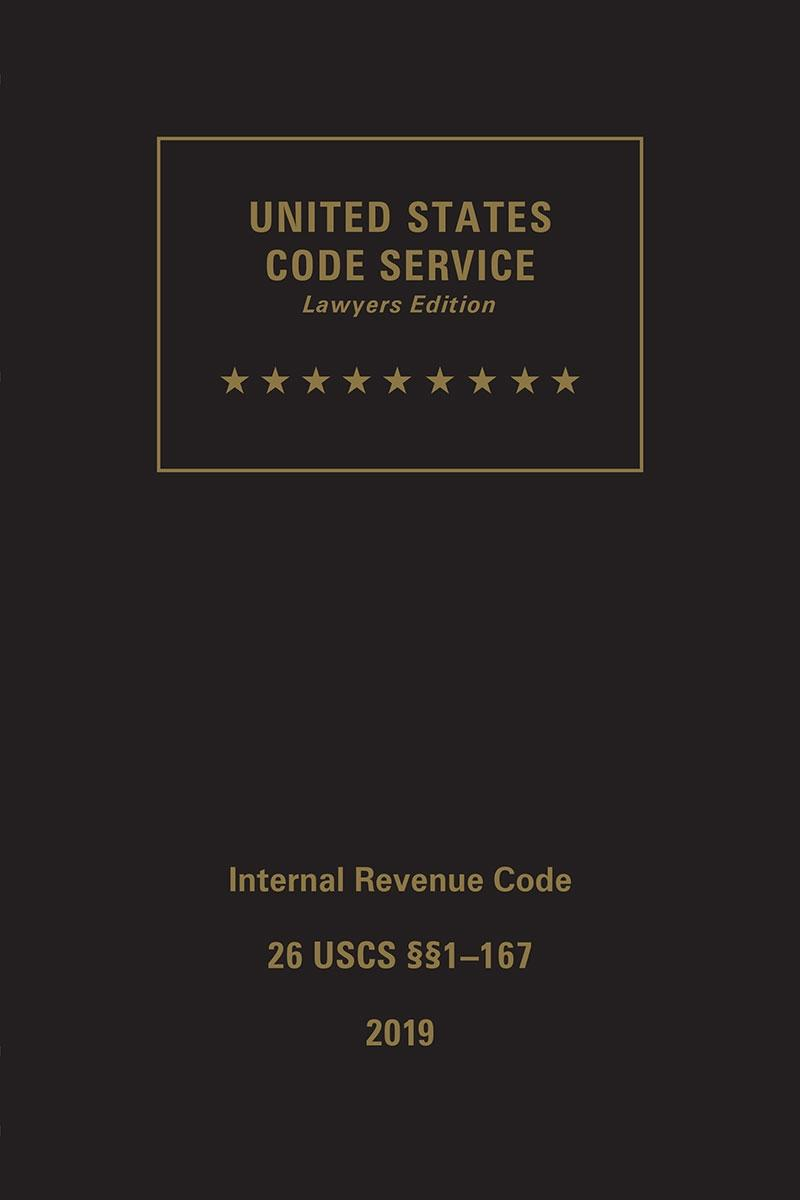 USCS, Title 26, Internal Revenue Code | LexisNexis Store