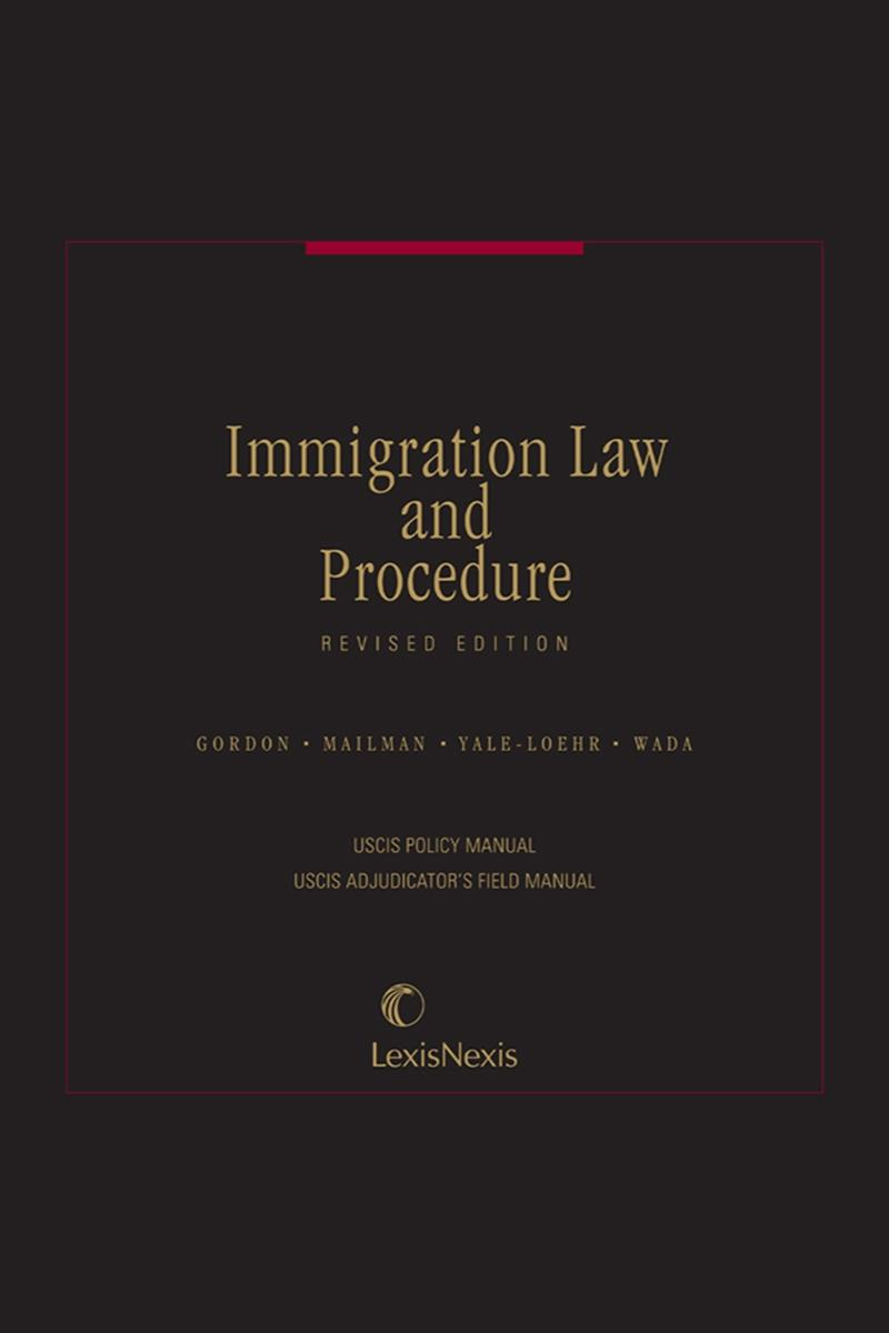 Securities arbitration procedure manual lexisnexis store immigration law and procedure uscis policy manual and adjudicators field manual cover fandeluxe Images