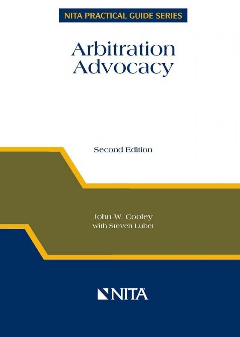 Arbitration advocacy nita fandeluxe Images