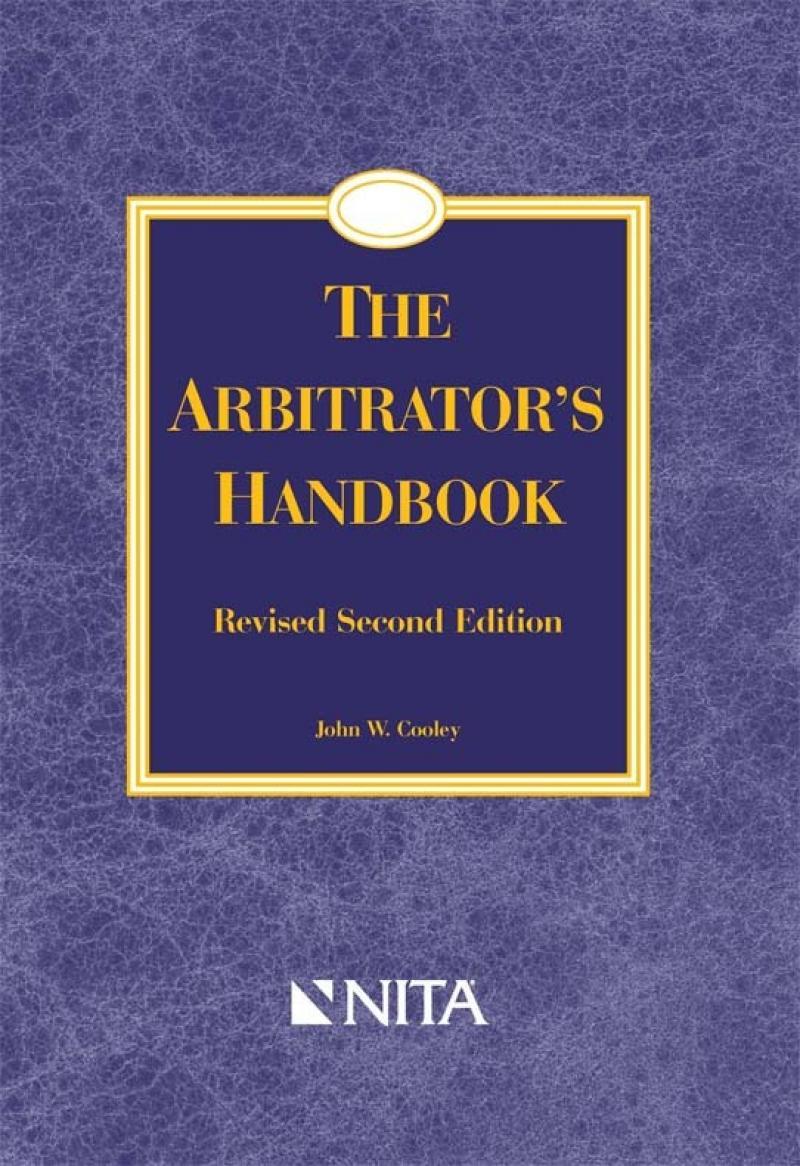 The arbitrators handbook nita the arbitrators handbook fandeluxe Images