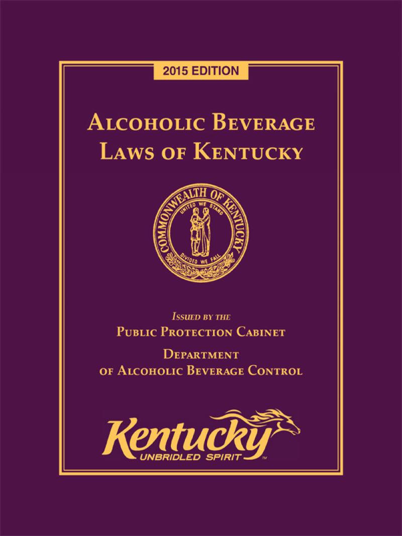 Alcoholic Beverage Laws of Kentucky | LexisNexis Store