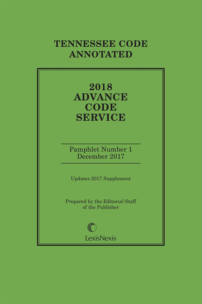 tennessee advance code service publisher lexisnexis