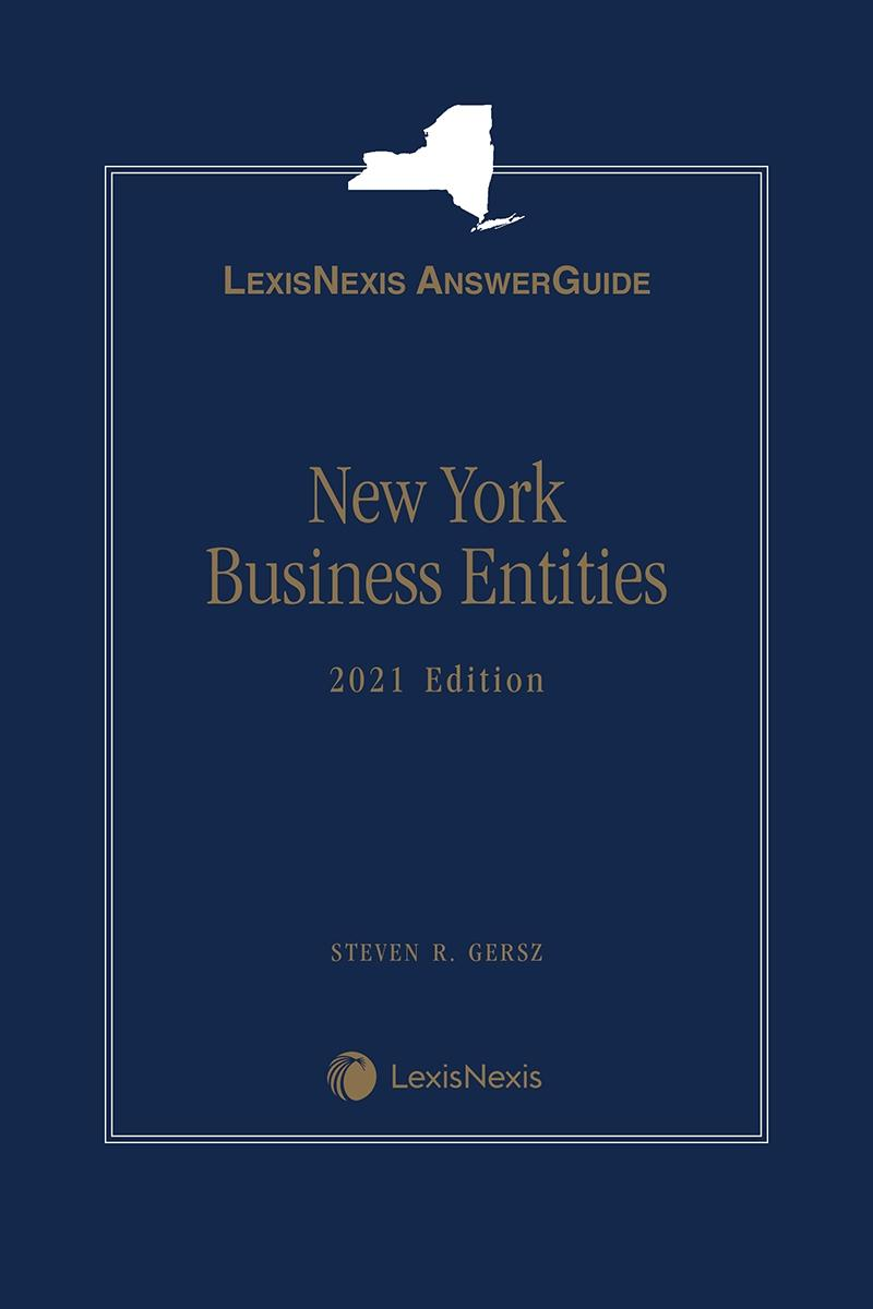 Lexis AnswerGuide New York Business Entities