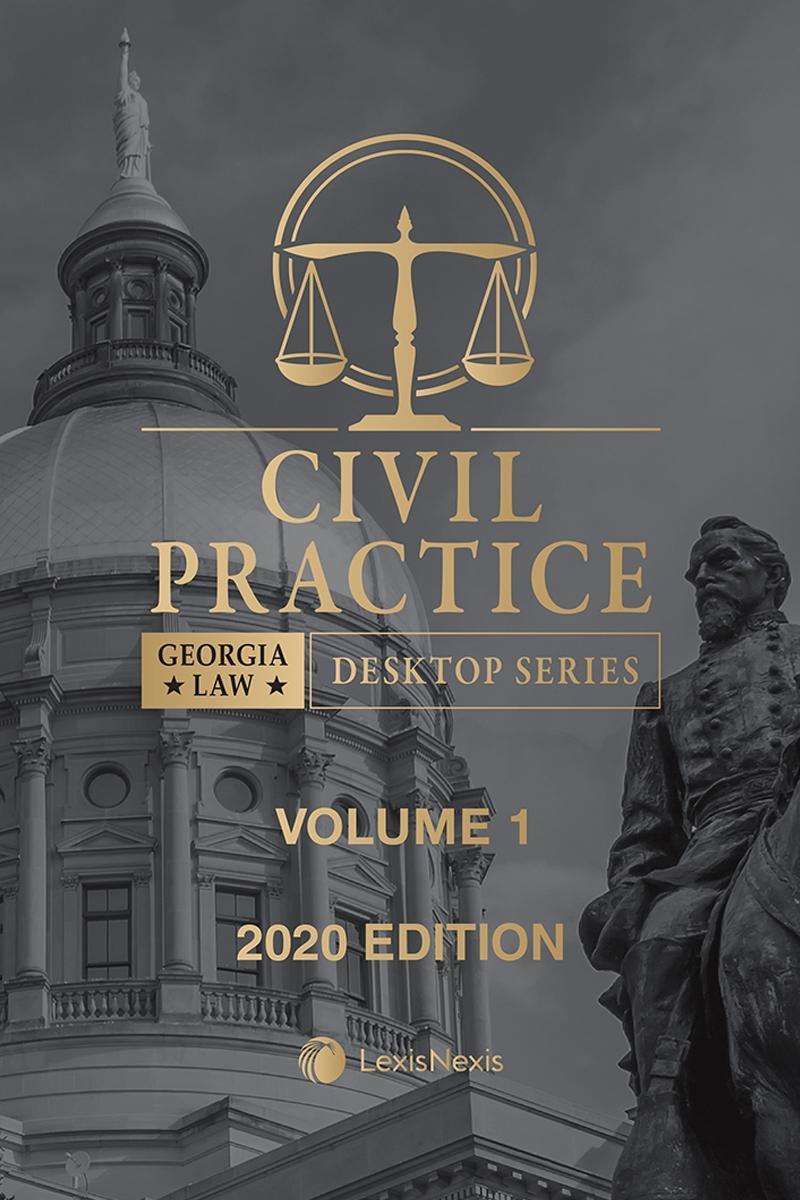 Georgia Civil Practice Law Lexisnexis Store Writ laws in ga