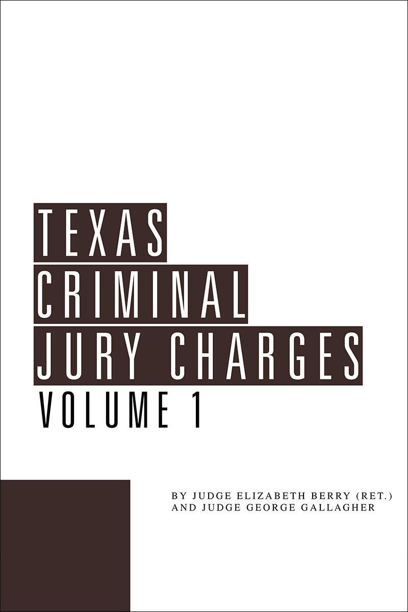 Texas Criminal Jury Charges Lexisnexis Store