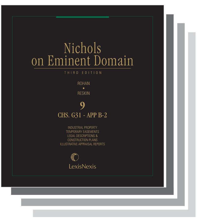 Nichols On Eminent Domain Lexisnexis Store