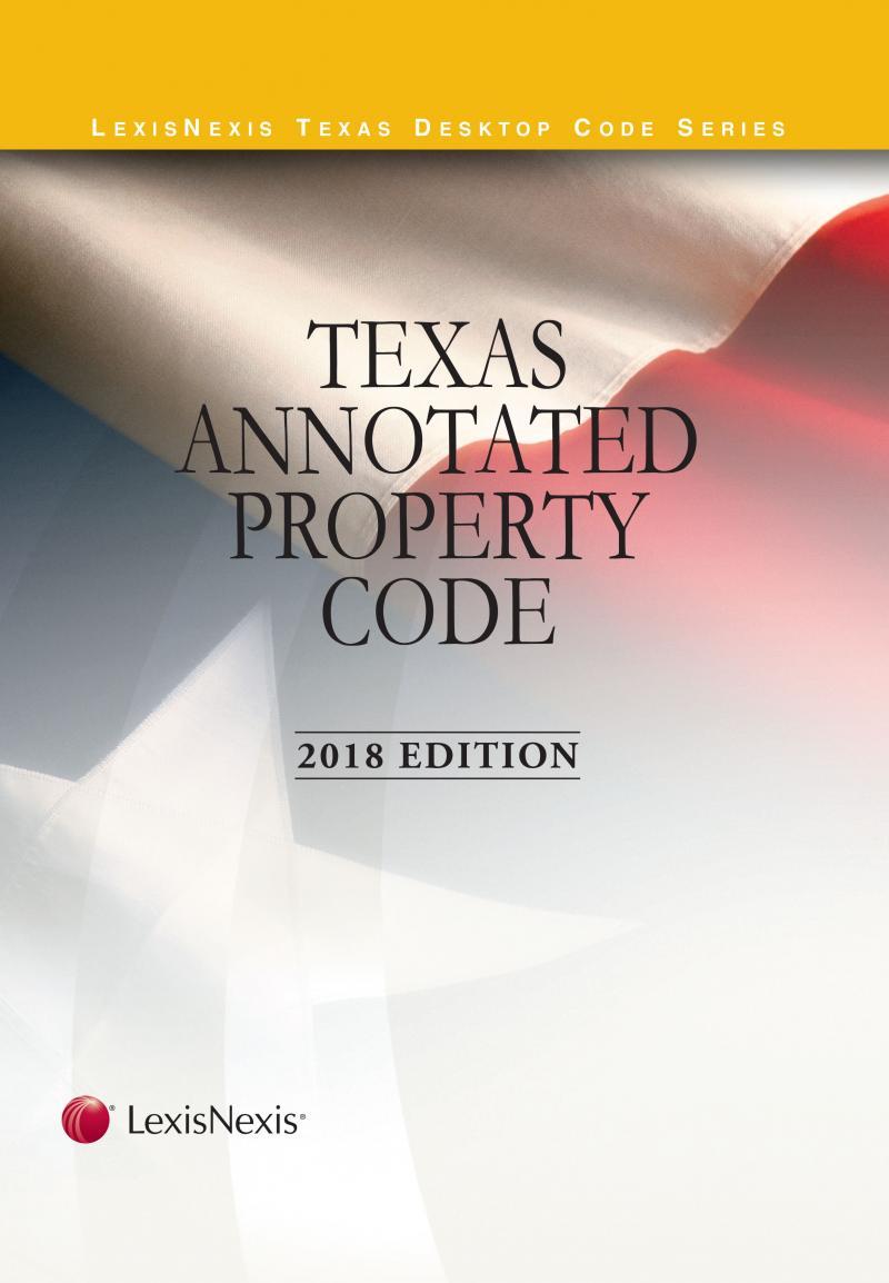 Texas Annotated Property Code | LexisNexis Store