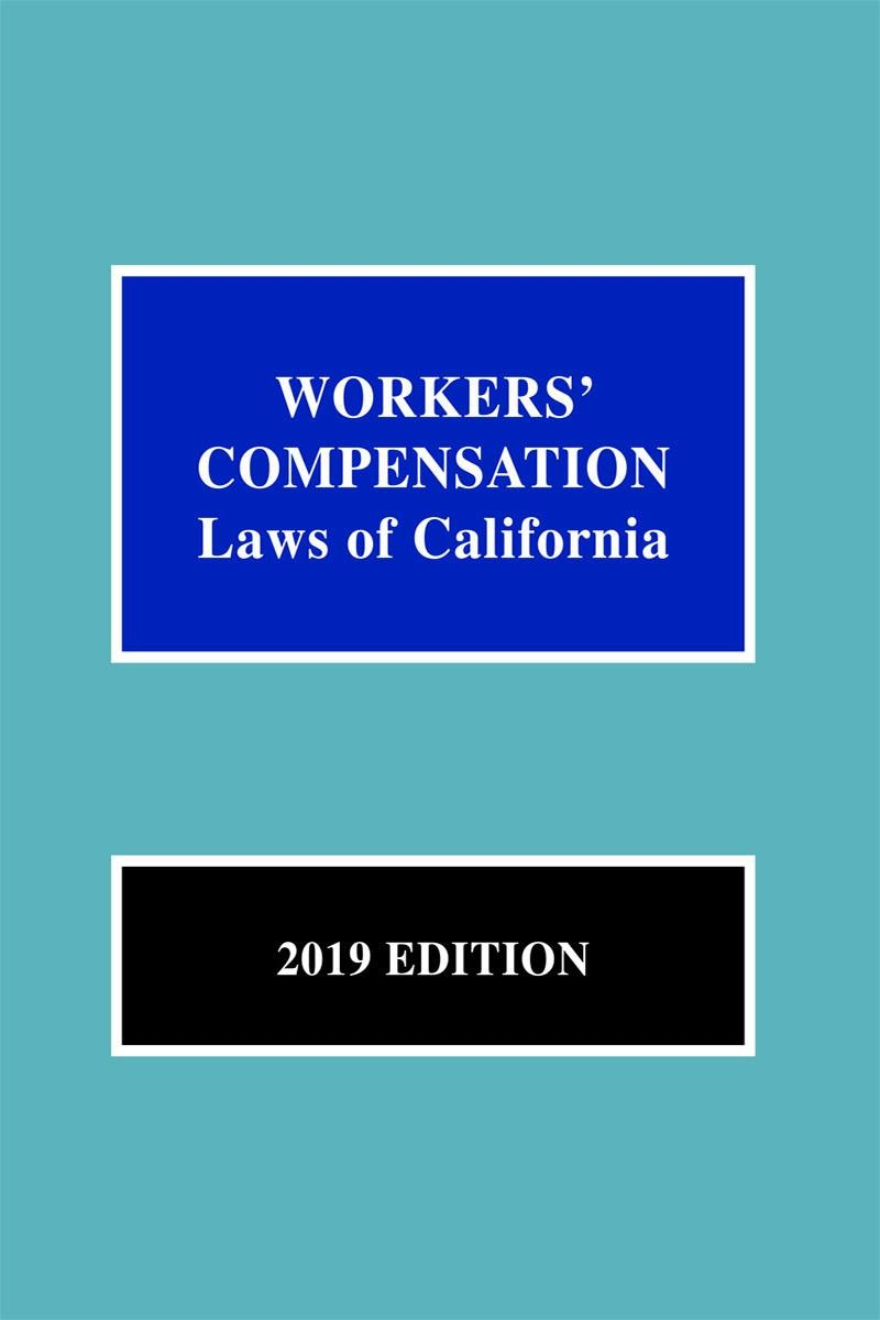Workers' Compensation Laws of California | LexisNexis Store