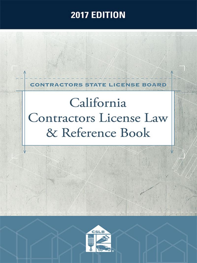 California Law And Business Contractors Exam Study Book