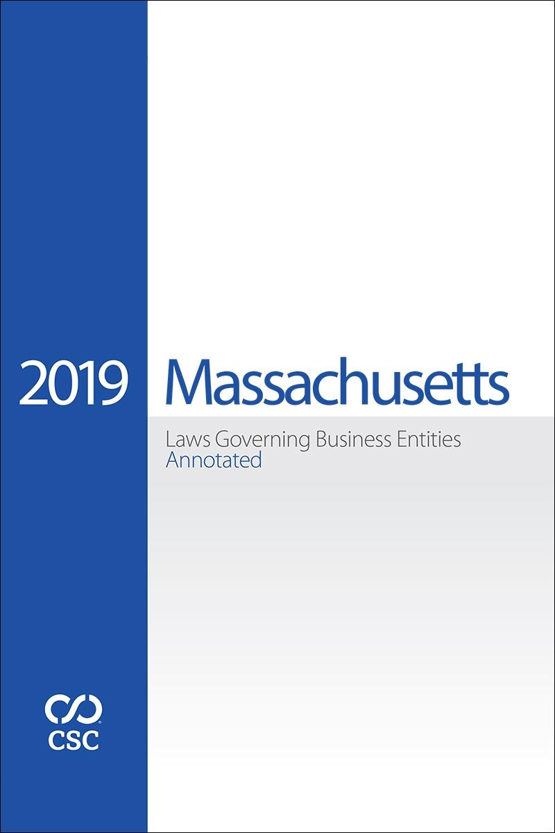 CSC® Massachusetts Laws Governing Business Entities