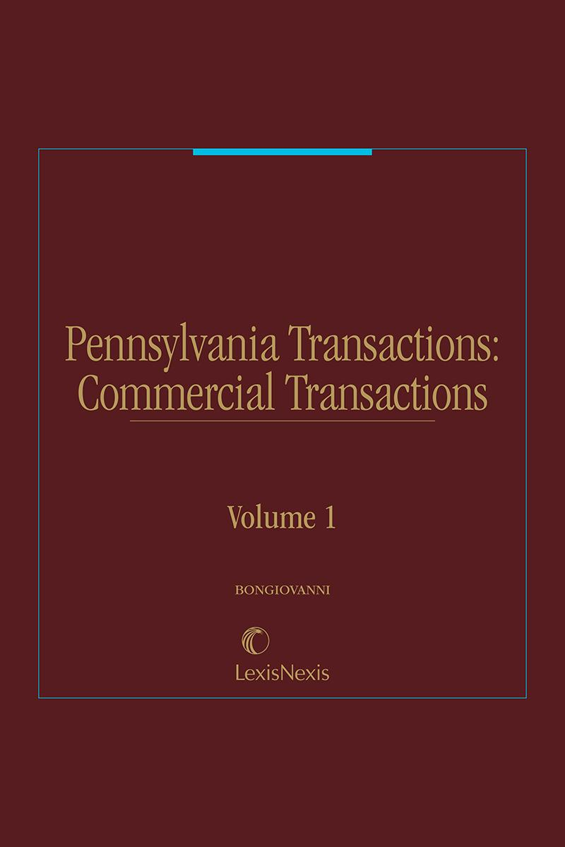 Pennsylvania Transactions: Commercial Transactions