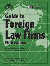 ABA Guide to Foreign Law Firms cover