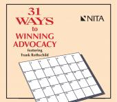 31 Ways to Winning Advocacy DVD cover