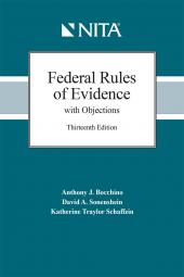 Federal Rules of Evidence with Objections cover