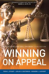 Winning On Appeal: Better Briefs and Oral Argument cover