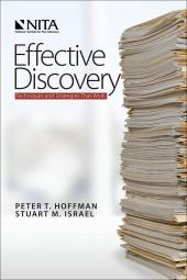 Effective Discovery: Techniques and Strategies That Work cover