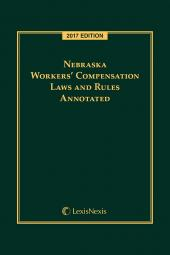 Nebraska Workers' Compensation Laws and Rules Annotated cover