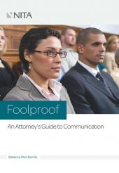 Foolproof: An Attorney's Guide to Oral Communications cover