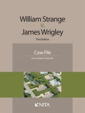 William Strange v. James Wrigley Case File cover