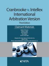 Cranbrooke v. Intellex, International Arbitration Version - Claimant Materials cover