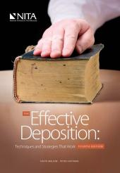 The Effective Deposition: Techniques and Strategies That Work cover