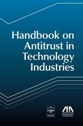 Handbook on Antitrust in Technology Industries cover
